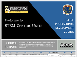 MSDE Science Technology Education and Engineering